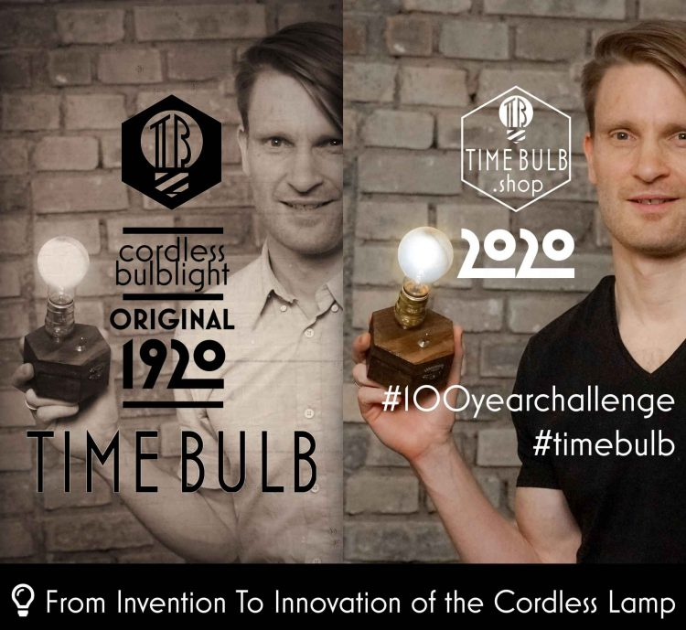 TimeBulb wireless dinner table lamp #100yearchallenge #10yearchallenge 1920 2020 2021 #1stapril light cordless cablefree wedding event party decoration trends nikola tesla thomas edison heinrich göbel staminno chllotz candlelight from Invention to Innovation of the Cordless Lamp - inventor innovator age of industrialization era Made In Germany Basis Frankfurt laboratory #basisfrankfurt #cordlesslamp #wirelesslamp #edisonbulb #edisonlamp #nikolatesla #thomasedison #staminnochllotz Edison Bulb #tilmannschlootz Tilmann Schlootz brand ambassador influencer #1stapril #1stofapril #steampunklamp #steampunkstyle #steampunktendencies #steampunk #vintagelamp #madeinfrankfurt #madeingermany #twenties #roaringtwenties #goldentwenties #twentiesparty #twentiespartytheme golden roaring twenties wedding party theme event motto styling trends 2020 2021
